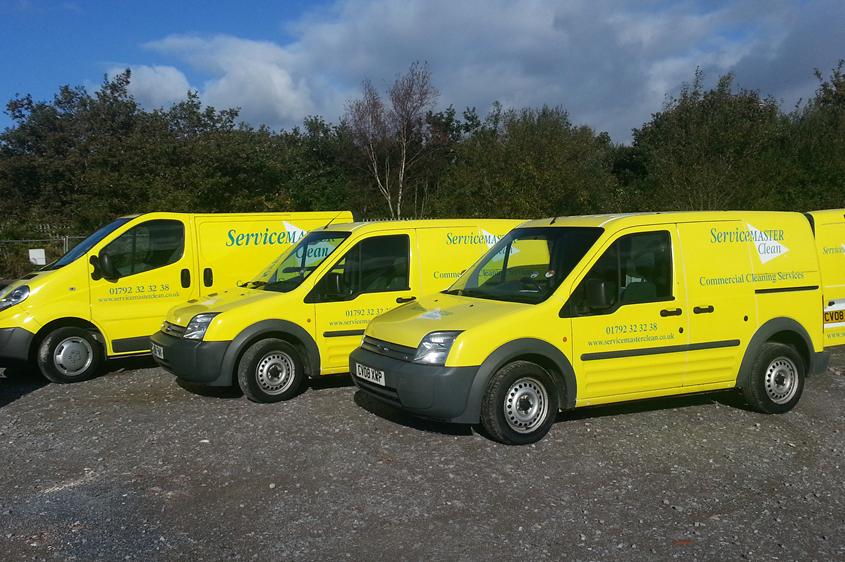 ServiceMaster Vans