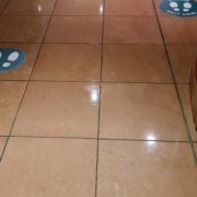 deep clean and sanitisation following sewage leak